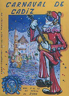 Cartel Carnaval de Cadiz año 2000