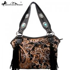 Montana west Western Fringe Collection Handbag