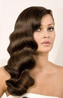 Soft Finger Waves for Long Hair. <3