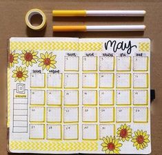 Easy Bullet Journal Ideas To Well Organize & Accelerate Your Ambitious Goals Monthly Bullet Journal Layout, Bullet Journal Notebook, Bullet Journal School, Bullet Journal Ideas Pages, Bullet Journal Inspiration, Bullet Journals, Bullet Journal Months, Diy Agenda, Doodles