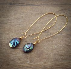 Long Earrings for Her by InspiredTheory on Etsy