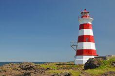 Brier Island Lighthouse, Nova Scotia, Canada