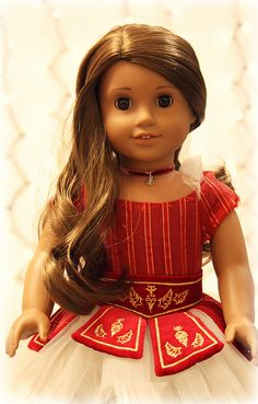 American Girl doll  Marisol as Sugarplum fairy