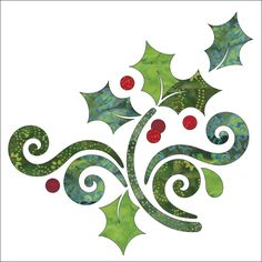 (7) Name: 'Quilting : Applique Add On's- Season's Greetings 2