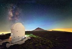 The European Space Agency's Optical Ground Station on Tenerife in the Canary Islands