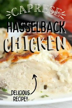 This Caprese Hasselback Chicken Recipe brings a ton of flavor with just six ingredients. Baked and keto-friendly, it is a perfect dinner choice! Hasselback Chicken, 9x13 Baking Dish, Incredible Recipes, Holiday Recipes, Party Recipes, Barbecue Recipes, Pinterest Recipes, Air Fryer Recipes, Slow Cooker Recipes