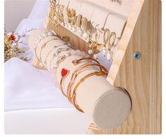 Organizador de joyas exhibición de joyas soporte de perno de | Etsy Napkin Rings, Etsy, Home Decor, Wood Display, Jewellery Display, Product Display, Organizers, Handmade Gifts, Pendants