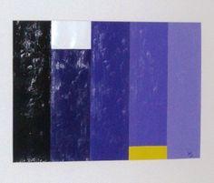 """""""Partes"""" acrílica sobre papel 0,80 x 0,50 2006 M. Sigrini Miranda"""