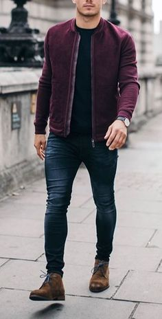 Moda Masculina Jovem Acessorios 67 Trendy Ideas - Fashion Tutorial and Ideas Neue Outfits, Komplette Outfits, Casual Outfits, Men Casual, Fashion Outfits, Fashion Ideas, Casual Styles, Fashion Boots, Simple Outfits