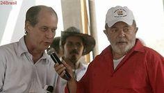 Ciro e Lula combinam aliança para o 2° turno