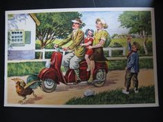4 x Unused Dutch Old Vintage Color Postcards C 1950 Leve de Vacantie | eBay