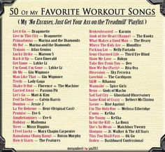 50 of My Favorite Songs On My Workout Playlist. One Song Workouts, Workout Songs, Mini Workouts, Cheer Workouts, Morning Workouts, Music Songs, My Music, Music Videos, Karaoke Songs
