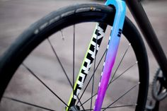 Death Spray Custom: Team Track Fork - PROLLY IS NOT PROBABLY #bike