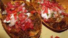 Low Carb Mexican Spaghetti Squash Boats · Low Carb Zen
