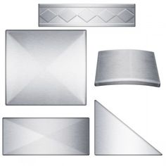 commercial kitchen design industrial and residental size stainless steel tile  pay 5.99 shipping for a free Sample Pack STAINLESS STEEL BACKSPLASH Modern, Contemporary Kitchen Look www.stainlesssteeltile.com