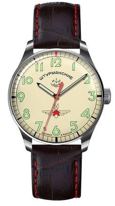 Amazon.com: Sturmanskie Gagarin Commemorative Limited Edition Russian Mechanical Men's Watch 2609/3705126: Clothing
