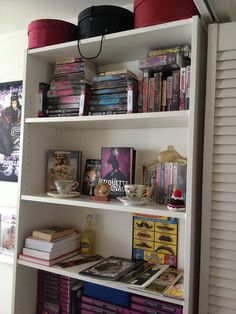 Book Shelves of Gail Carriger