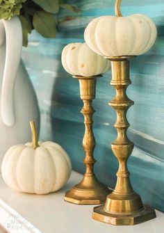 Why didn't I think of this? Great inexpensive ideas for Fall Decorating!