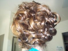 Another Loose Updo  Wouldn't hold up at a dance party!  But works great for a nice dinner date.