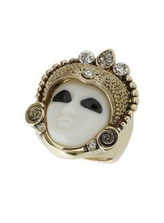 Mask face ring