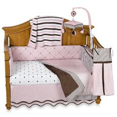 Royal Velvet™ Pink Crib Bedding & Accessories