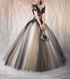 Sexy-Black-Lace-Quinceanera-Dress-Prom-Ball-Gown-Wedding-Bridal-Dresses-Size
