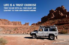 Life is a trust exercise.  Trust in the Lord with all your heart and lean not unto your own understanding. #Depression #PTSD #PositiveSelfTalk #Positive #Woundedwarrior