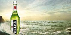 und als grünes Getränk für die Männer : Becks Green Lemon