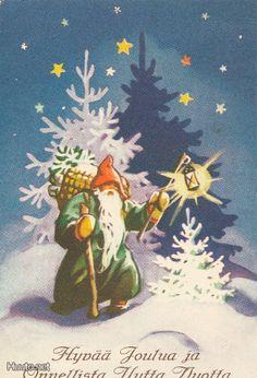 Vintage Christmas Cards, Retro Christmas, Vintage Holiday, Christmas Angels, Christmas Greetings, Xmas, Vintage Images, Retro Vintage, Old Fashioned Christmas