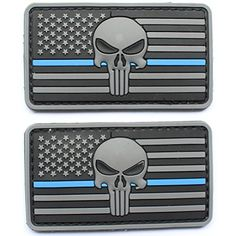 98137e9f181  Thin Blue Line DEVGRU Seal Team Punisher rubber patch is made of Premium   quality