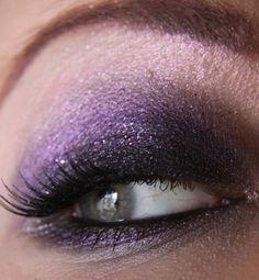 3 layer purple eye shadow