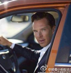 """londonphile: """"Ok, non photoshopped Benedict Cumberbatch for MG GS ad, much better ;) """""""