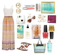 Summer Nights by tfiosunicorn on Polyvore featuring maurices, Tory Burch, Missoni Mare, Mudd, Hoola, Lancôme, Korres and OPI