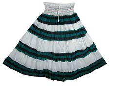 Gypsy Peasant Skirt- Hippie Boho Skirts White Blue Cotton Tiered Skirts Mogul Interior,http://www.amazon.com/dp/B00BK48EFI/ref=cm_sw_r_pi_dp_MQPbsb11S4AFDA87