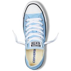 a621fdd27c6 Converse Chuck Taylor All Star Fresh Colors – blue sky Sneakers ($40) ❤  liked