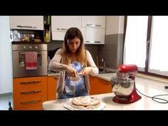 Come fare la crostata - pasta frolla all'olio - KitchenAid - YouTube