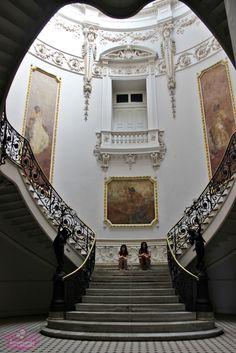 Museu de Ciências da Terra na Urca no Rio de Janeiro