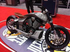 Another Victory concept bike on display this weekend at the Minneapolis Convention Center