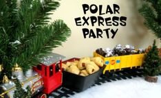 Tons of cute Polar Express party ideas! I think we should use this for school