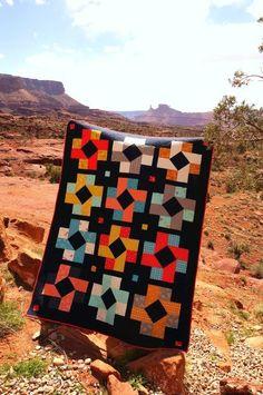 Modern Susannah Quilt for Mod Block Magazine by Amy Smart