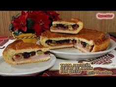 TARTA NAVIDEÑA DE PAN DE JAMÓN CON QUESO receta venezolana riquisima - YouTube