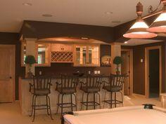 Cant Beat A Wet Bar In The Basement! - plan #091D-0449   houseplansandmore.com