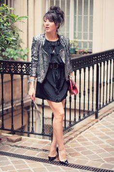 Glitter jacket. <3