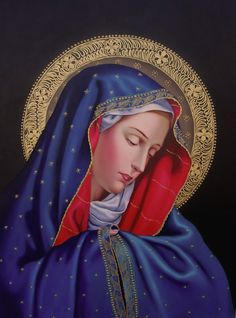 Divine Mother, Blessed Mother Mary, Blessed Virgin Mary, Catholic Pictures, Church Pictures, Christian Paintings, Christian Art, Catholic Religion, Catholic Art