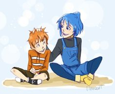 nemo and dory! I used the designs from that finding nemo as an anime post- don't know whose it is, so all credit goes to them! on tumbl. Anime Disney Princess, Disney Anime Style, Disney And More, Disney Fun, Disney Pixar, A Cartoon, Cartoon Characters, Finding Nemo The Musical, Fandom
