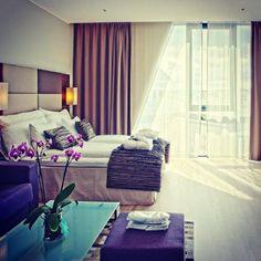#bedroom #interior at @clariontrondheim (Clarion Hotel Trondheim) |