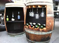 Re-purposed Wine Barrel (as seen on Cousins on Call, Long Beach Antique Market, Olde Good Things)