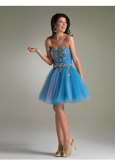A-line Sweetheart Sleeveless Short/Mini Tulle Party Dress #USAZT709 - See more at: http://www.beckydress.com/special-occasion-dresses/cocktail-dresses.html?p=10#sthash.Blq3WIHk.dpuf
