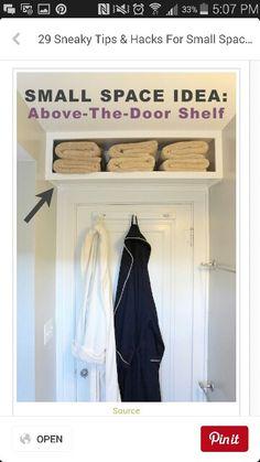 Over the door shelves