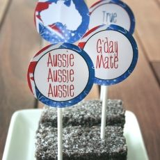 cake toppers aus day